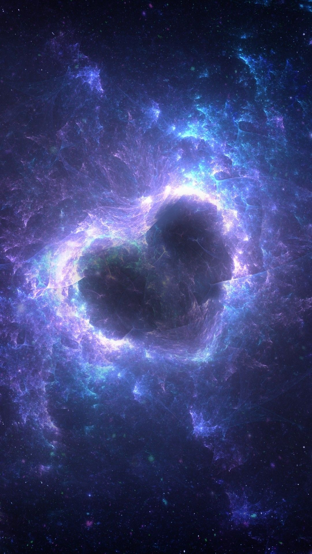 Blue Universe Wallpaper Android In 2020 Blue Galaxy Wallpaper Planets Wallpaper Wallpaper
