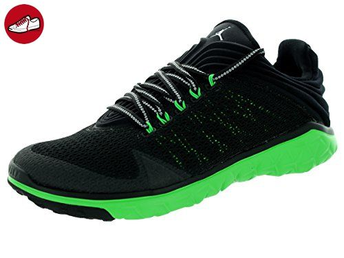 986f2b661d7449 Nike Jordan Mens Jordan Flight Flex Trainer BlackWhiteLt Green Spark Training  Shoe 95 Men US -- You can find more details by visiting the image link.