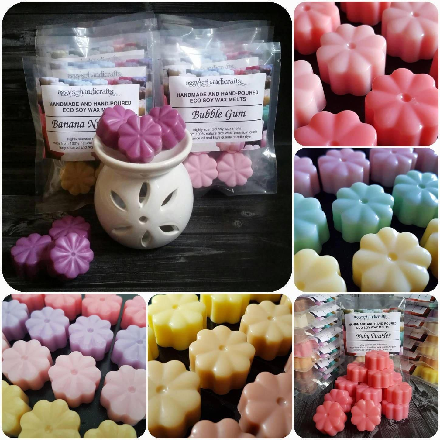 how to make wax melts from candles