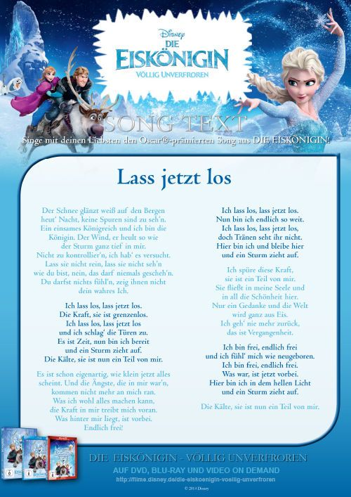 Eiskönigen Lieder