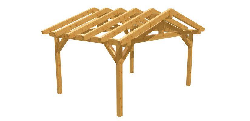 43+ Holz carport selber bauen Trends