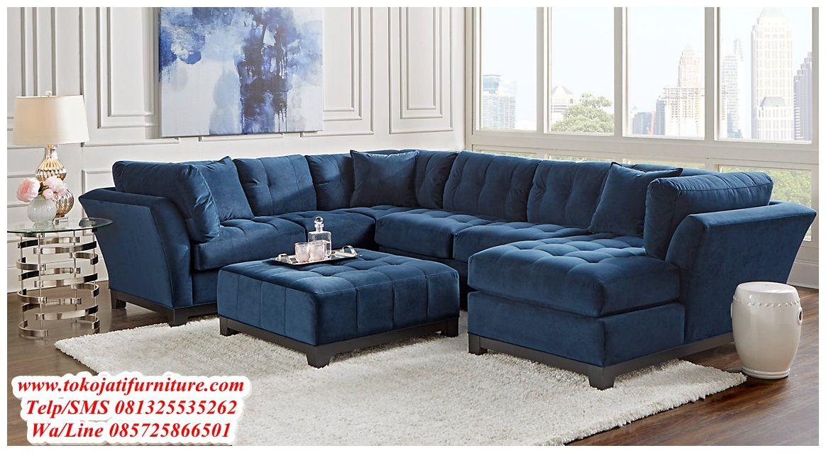 Pin On Set Sofa Tamu Sudut Jepara