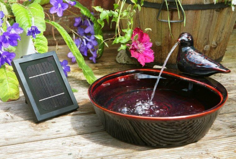 Fontaine Solaire De Jardin : Un Choix Sage Et écolo