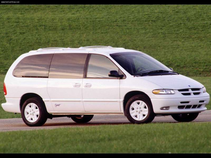 Hugh And Smokey Drive In A White Dodge Caravan Reportedly The