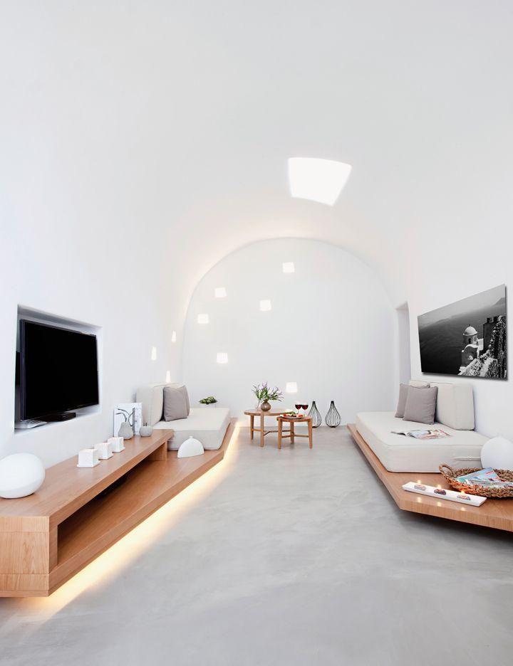 Espacio Blanco Amplio | Salones Modernos | Pinterest | Sala de estar ...