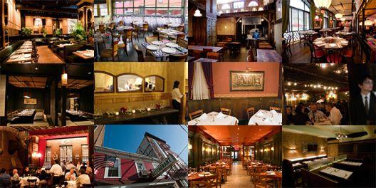New York's Ten Best Tables for Ten