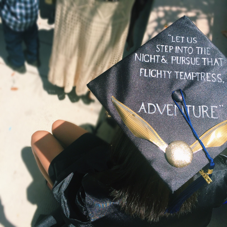 Harry Potter Graduation Cap Albus Dumbledore Quote Harry Potter Graduation Cap Harry Potter Graduation Graduation Cap Designs