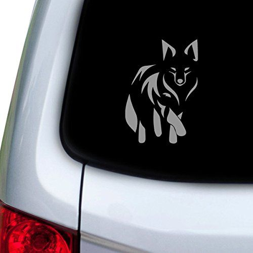 Stickany Car And Auto Decal Series Fox Tribal Sticker For Windows