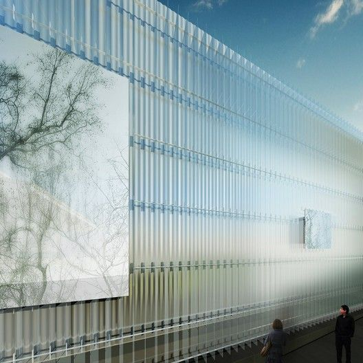 Gallery Of Thomas Phifer And Partners Unveils Design For Corning Museum Of Glass 10 Facade Architecture Architecture Glass Museum