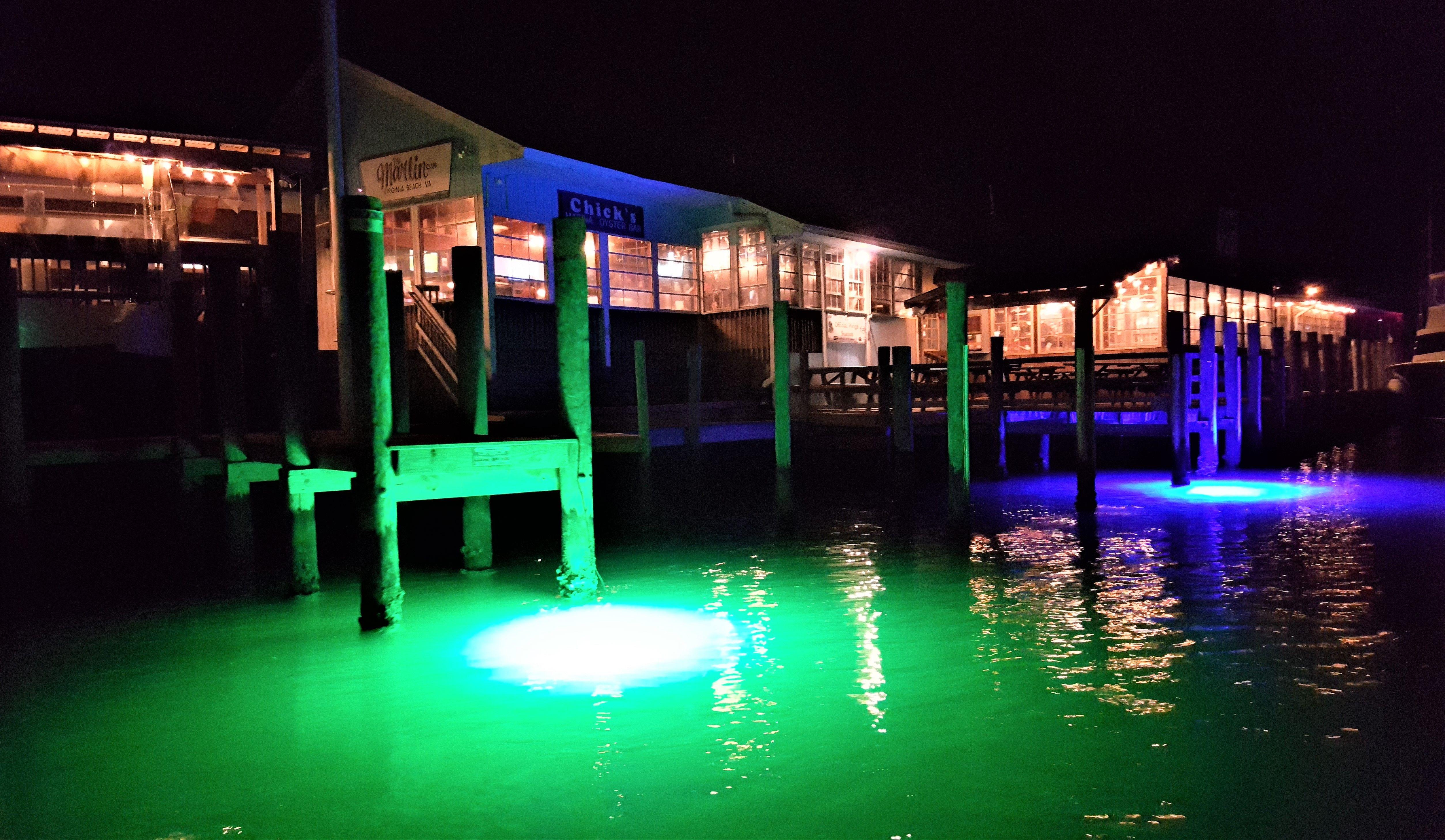 Mega Watt Led Underwater Dock Lights
