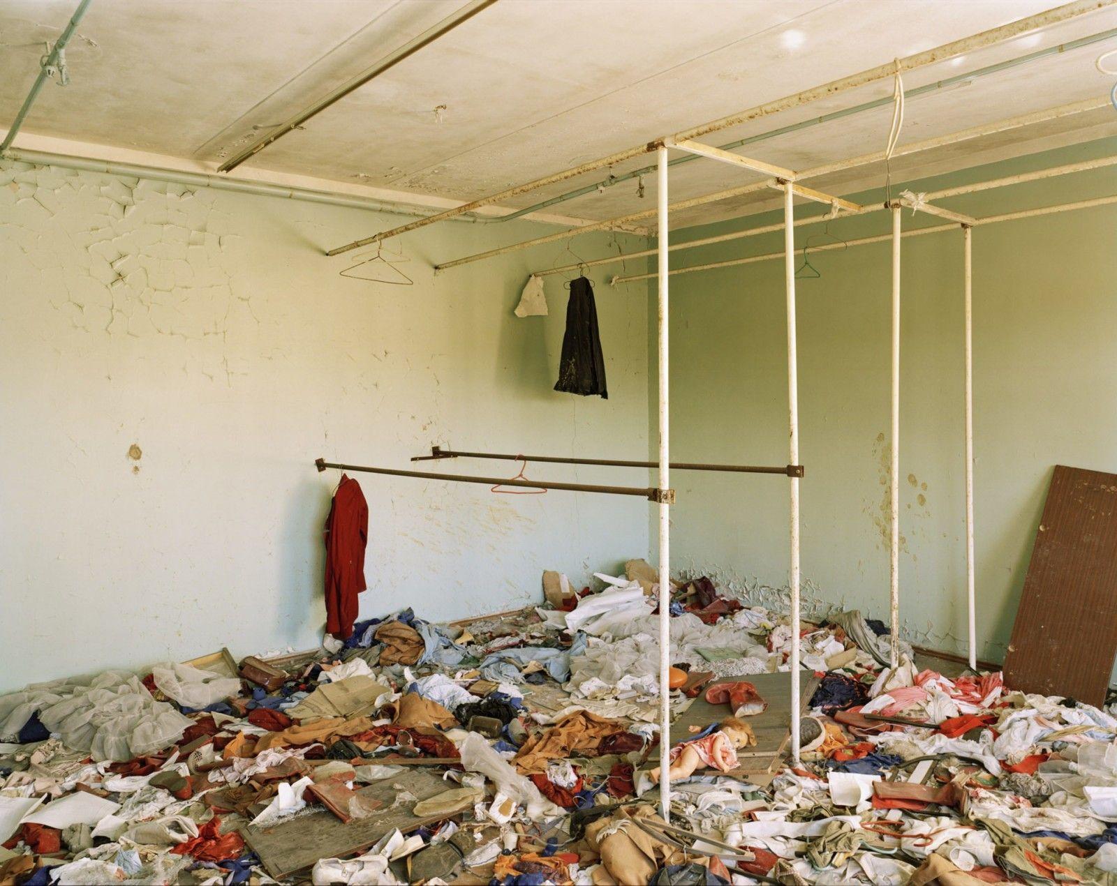 Nadav Kander Cloakroom Pripyat Chernobyl