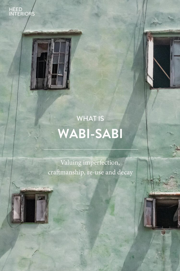 What is Wabi-Sabi? — HEED