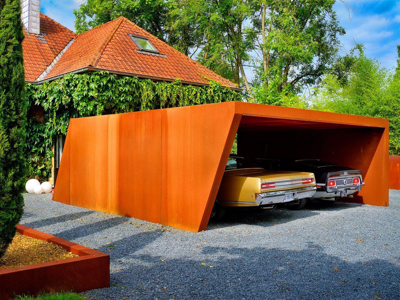LMT PRODUKTE - Mobilier urbain, acier corten, carport acier, bulle, portail corten