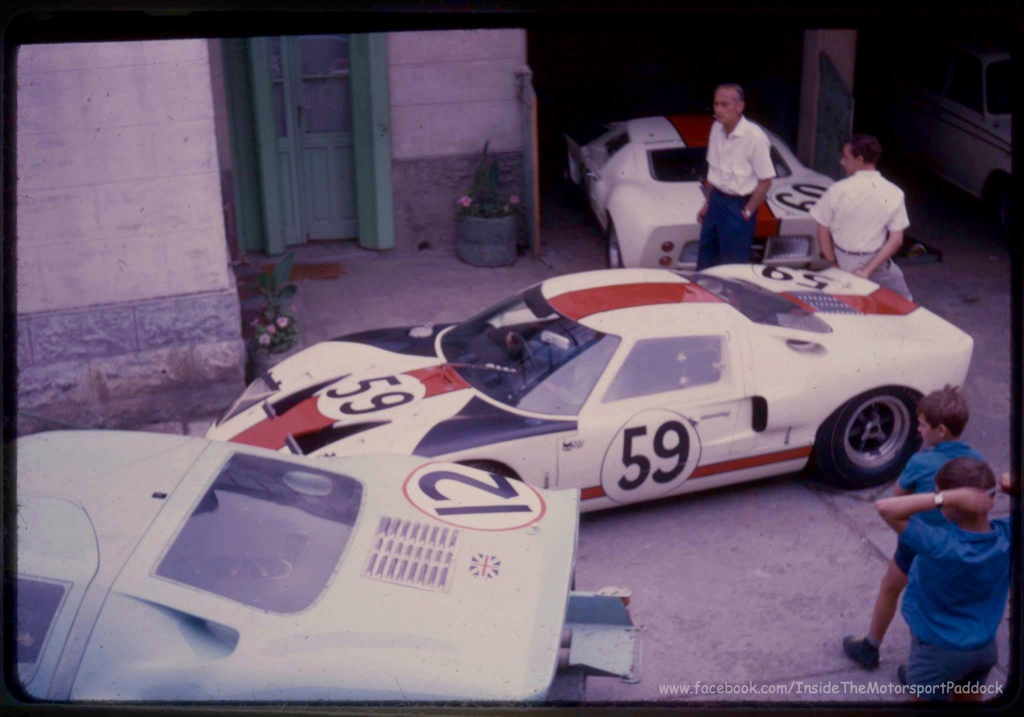 1966 Le Mans 24h Hotel De France Comstock Racing Team F R English Ltd With The Ford Gt40 1017 Nr12 Rindt Ireland Dnf Essex Wir Ford Gt40 Gt40 Ford Gt