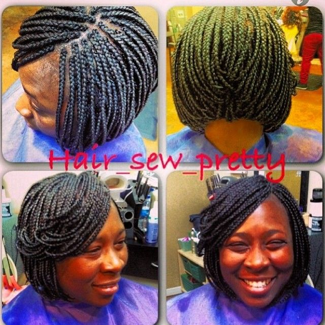 #hair_so_predi NEW NAME @hair_sew_pretty Instagram photos | Webstagram Bob Box braids | Micros ...