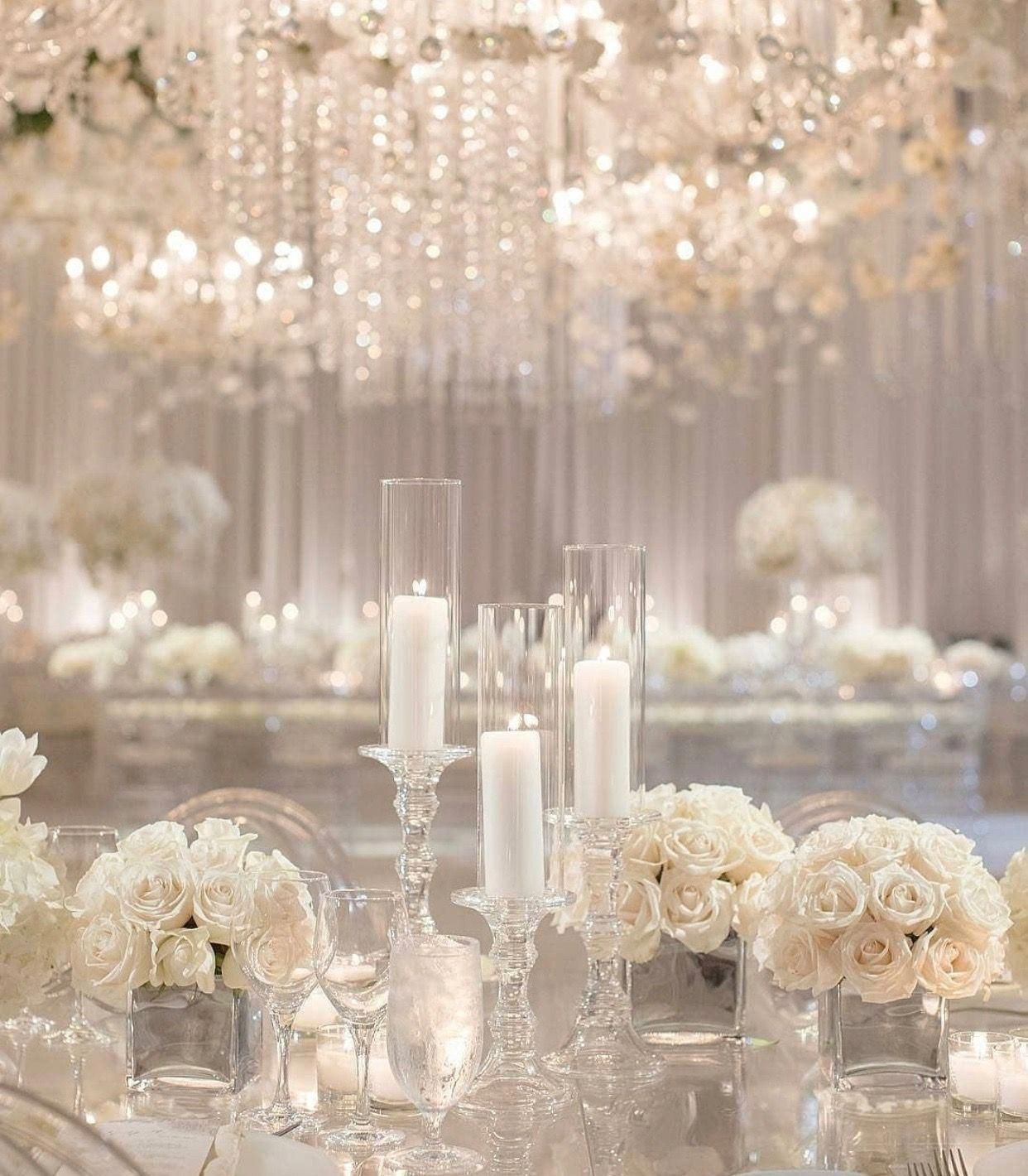Cool Luxury Wedding Venues Dig This Silver Wedding Decorations