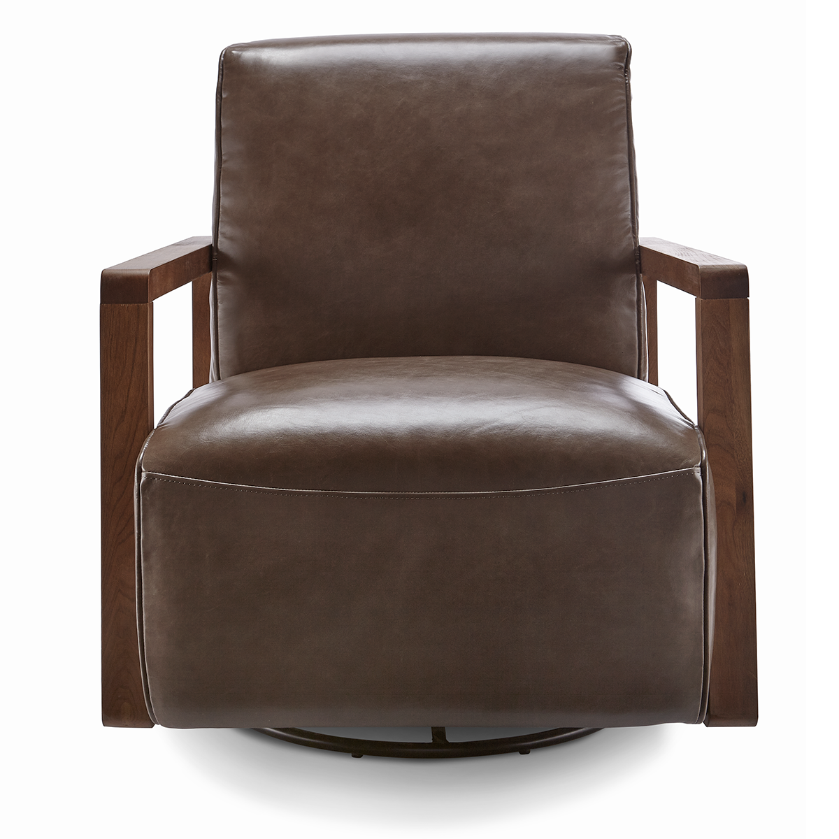 The Melville Swivel Chair emanates modernity with an understated design.
