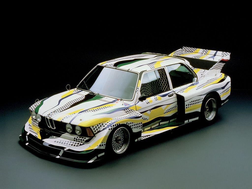 Bmw 320i Roy Lichtenstein With Images Art Cars Bmw Art Car Art