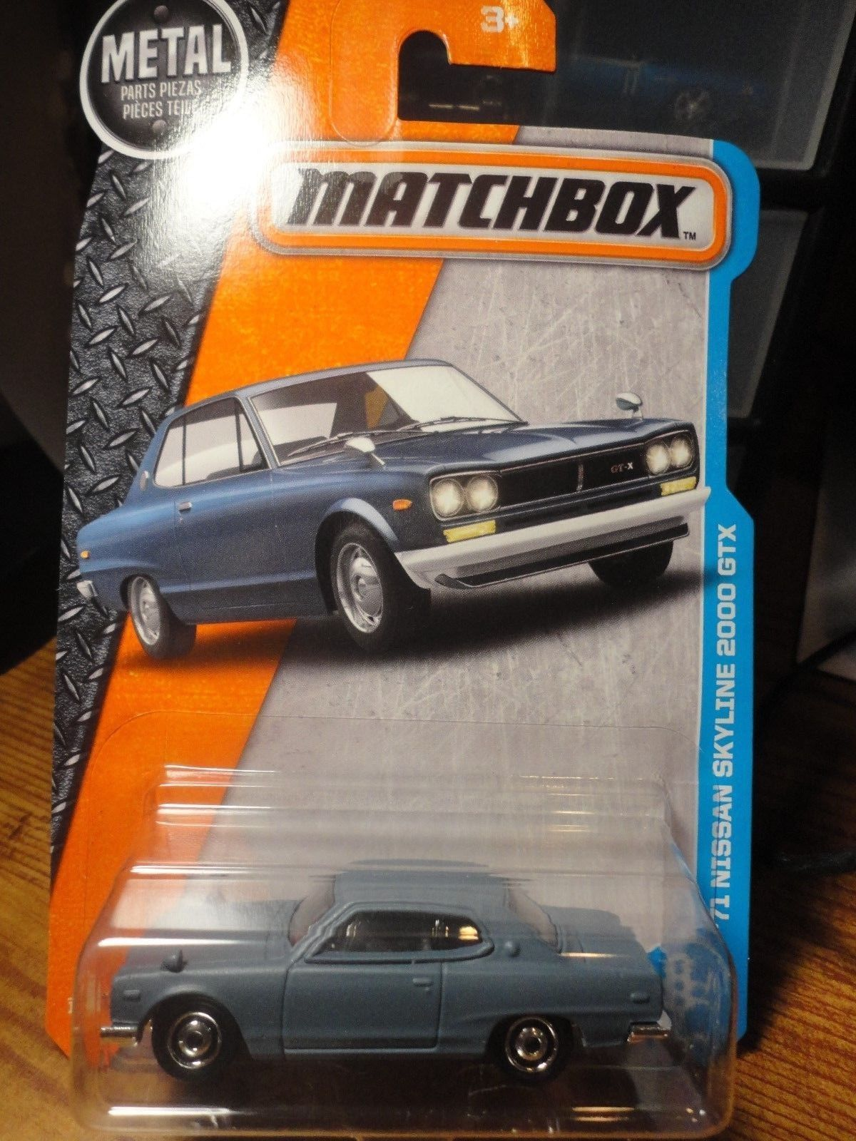 Cool Great 2017 ISSUE 11 MATCHBOX '71 NISSAN SKYLINE 2000