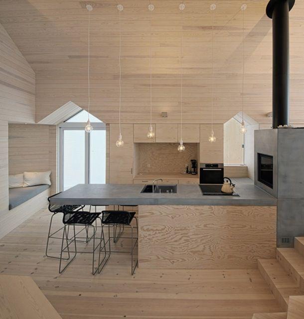 Det fineste feriehus af Reiulf Ramstad Arkitekter