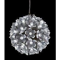 White Multi-Function Flower Ball Light
