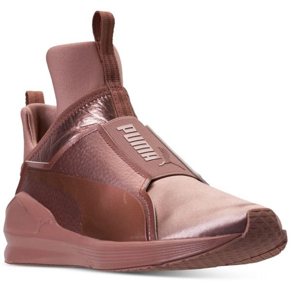 f6f57a985dba59 Puma Women s Fierce Copper Velvet Rope Training Sneakers from Finish...  ( 110) ❤ liked on Polyvore featuring shoes
