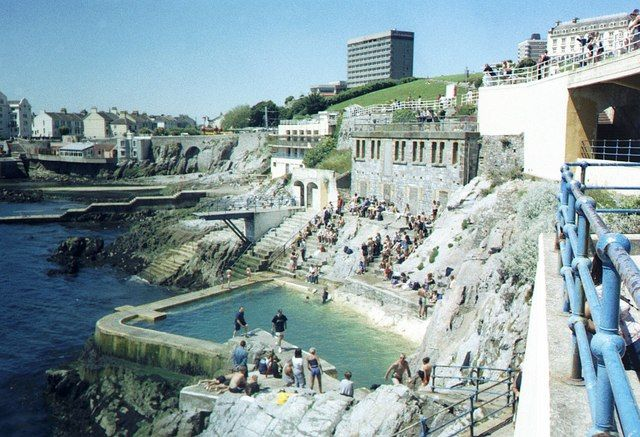 Tidal Pool At Plymouth Hoe Places I Have Been Pinterest Plymouth Happy Day And Memories