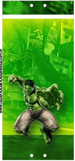 Hulk Free Party Printables.