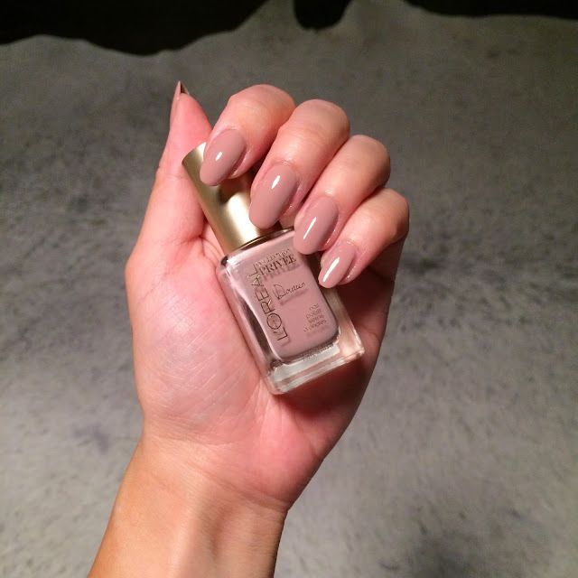 Love this nail polish color - LOREAL PRIVEE - DOUTZEN. Blogged on 07 ...