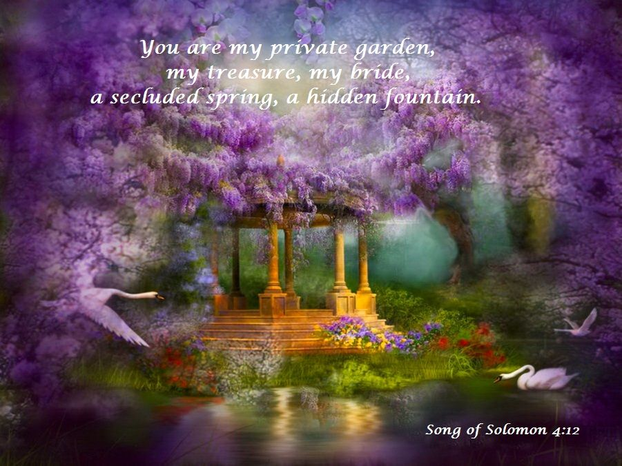The Secret Garden Lake Art Beautiful Nature Posters Art Prints
