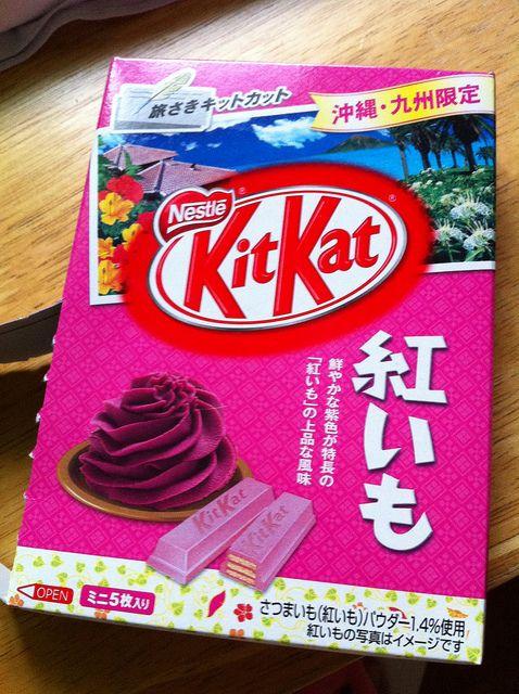 Kit Kat Batata roxa