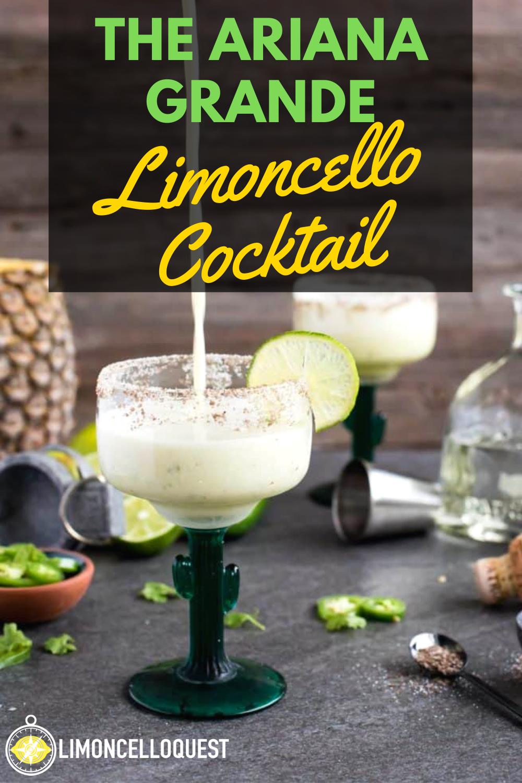 The Ariana Grande Limoncello Cocktail #limoncellococktails
