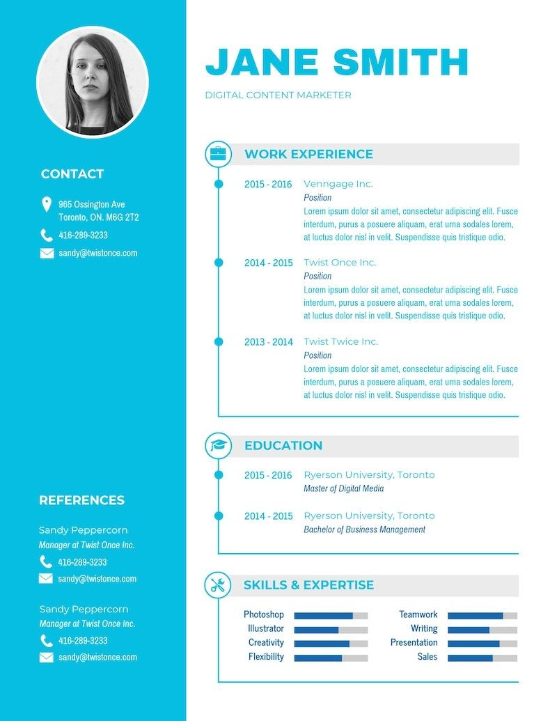20+ Expert Resume Design Ideas [From a Hiring Manager