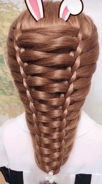 Lange Frisuren für Mädchen | Frisur Tutorial – Lange Frisuren für Mädchen | …