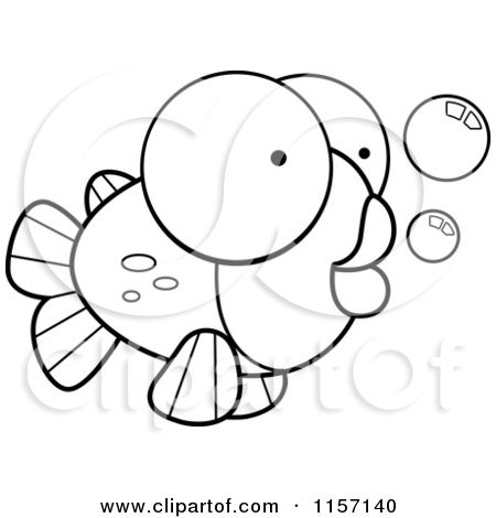 Back Print This Goldfish Color Page More Animal Coloring Pages