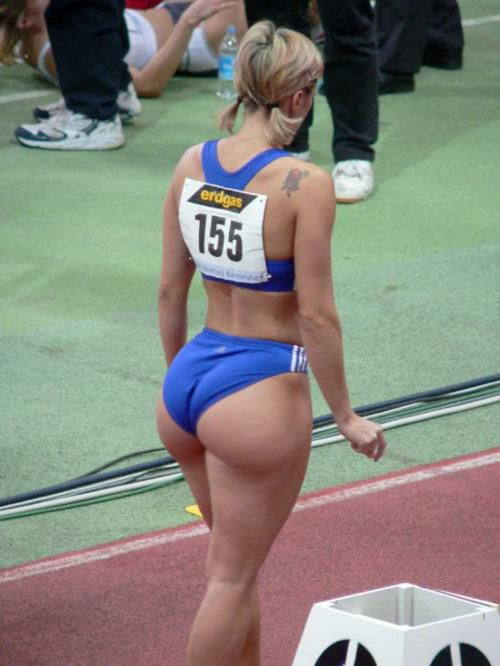 Sexy female athletes with big butts pic 250