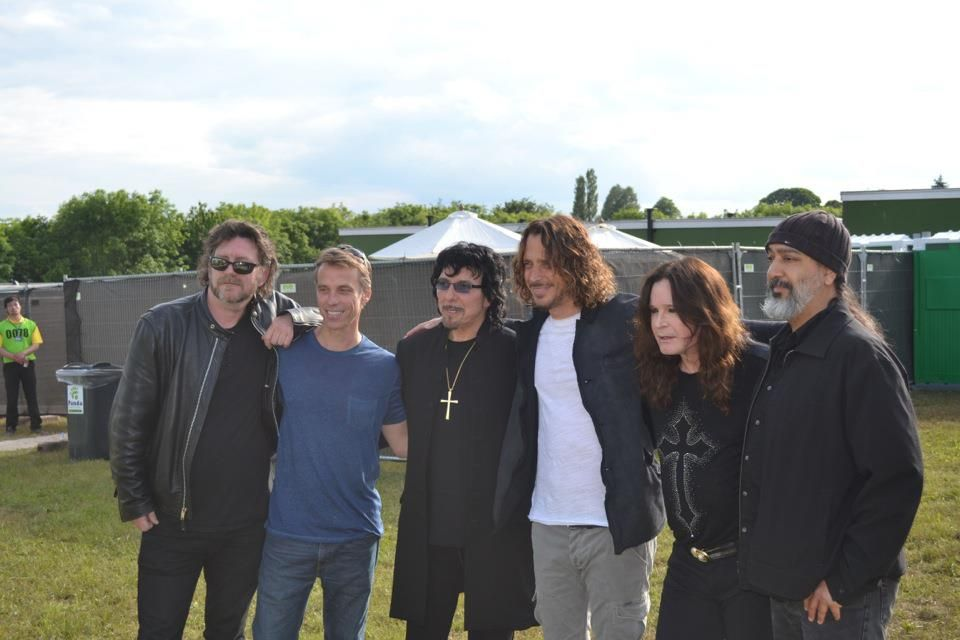 "Chris Cornell (@ChrisCornell): ""Soundgarden and Black Sabbath at Download"""