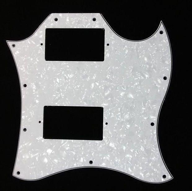 Pickguard For /'67 Reissue Series Gibson Flying V NEW BLACK 3-Ply