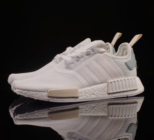 Details about NEW Adidas NMD R1 White Tactile Green BY3033