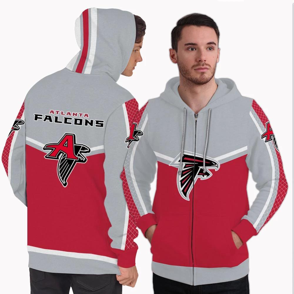 Colorful Gorgeous Fitting Atlanta Falcons Zip Hoodie Atlanta Falcons Hoodie Zip Hoodie Hoodie 80