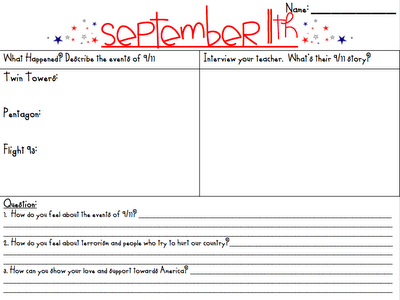 Worksheets September 11 Worksheets 1000 images about september 11th activities on pinterest patriots day and activities