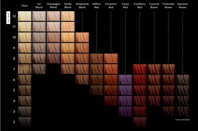 Sebastian Cellophanes Colors Chart Ibovnathandedecker