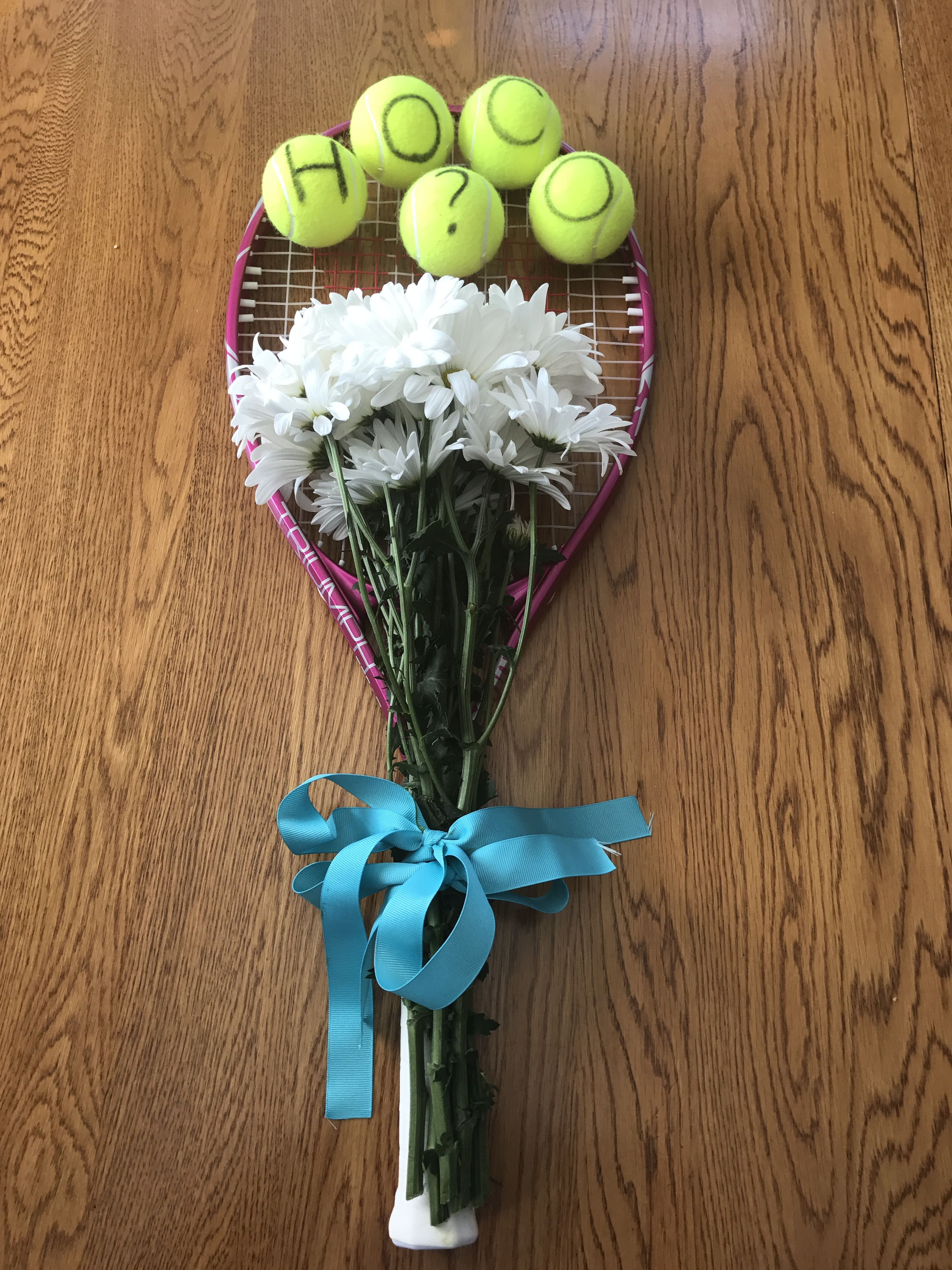 Homecoming Proposal For A Girl Who Plays Tennis Homecoming Proposal Cute Homecoming Proposals Hoco Proposals