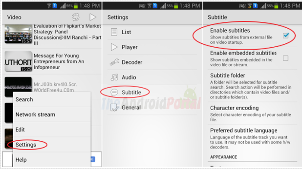 Turn OFF Subtitles on MX Player - How To Enable or Disable
