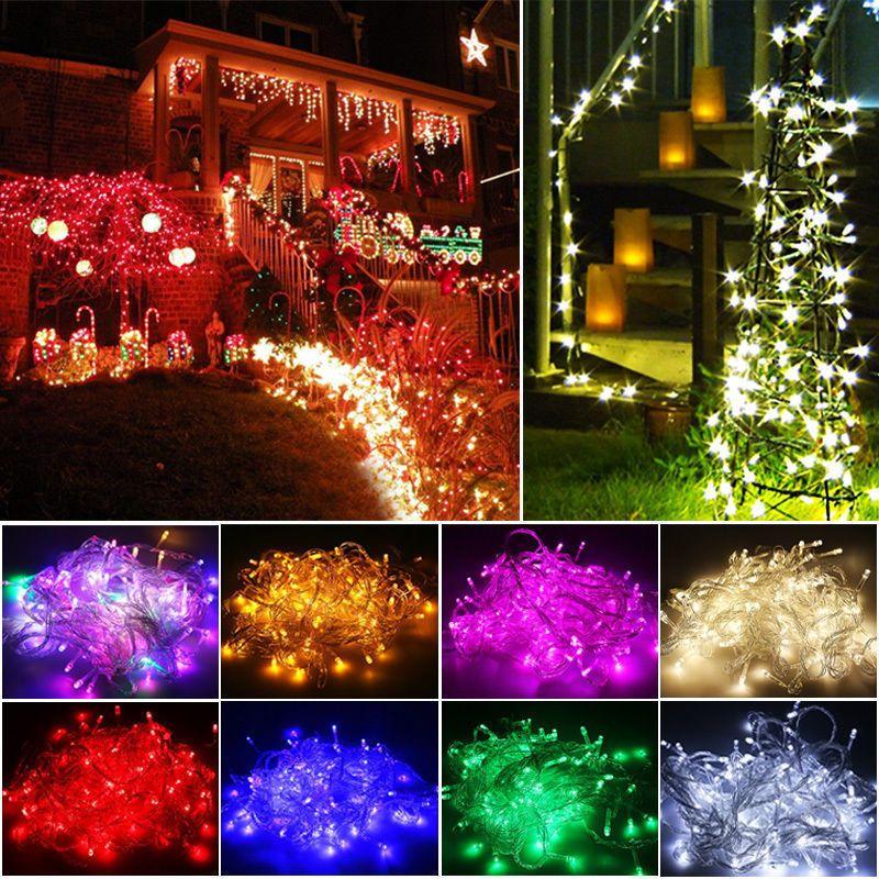 New 200 Twinkle LED Christmas Lights 20M LED Xmas String Fairy