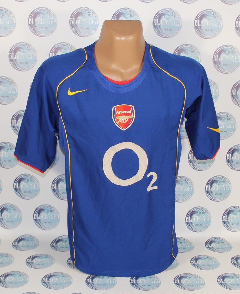 cf03f46fc ARSENAL 2004 2005 AWAY FOOTBALL SOCCER SHIRT JERSEY TRIKOT ERA HENRY L   Nike  Arsenal