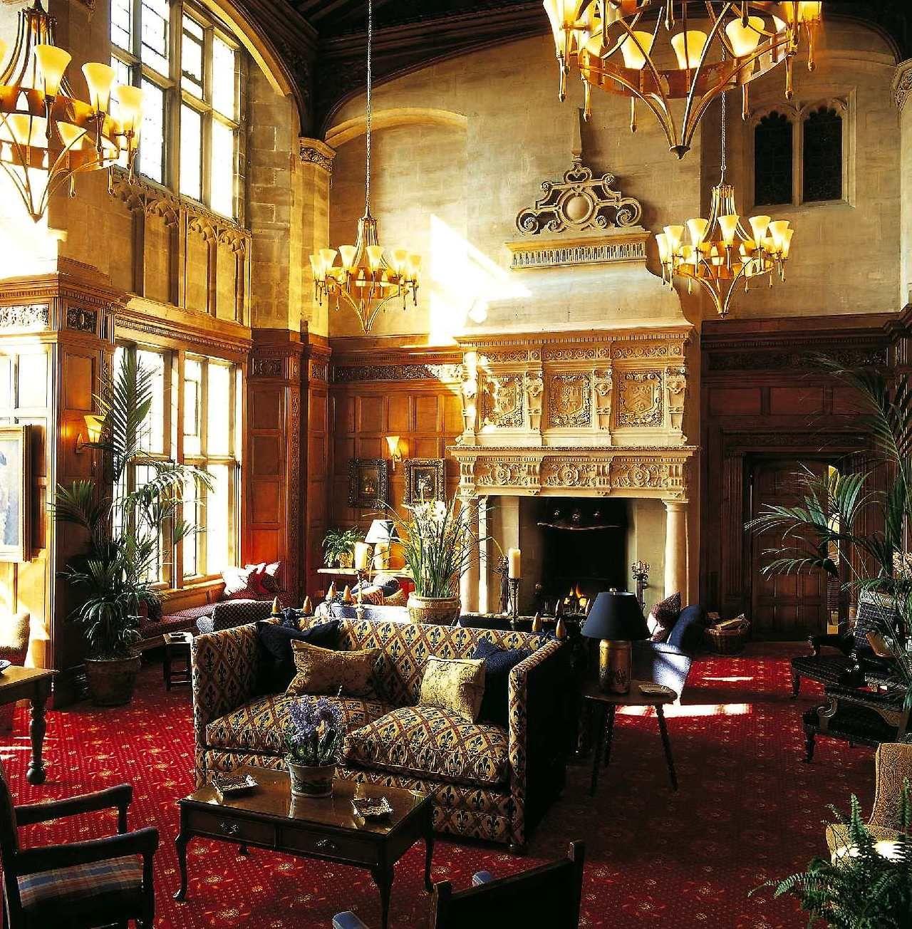 Cathedral Room At Carnegie S Skibo Castle Skibo Castle