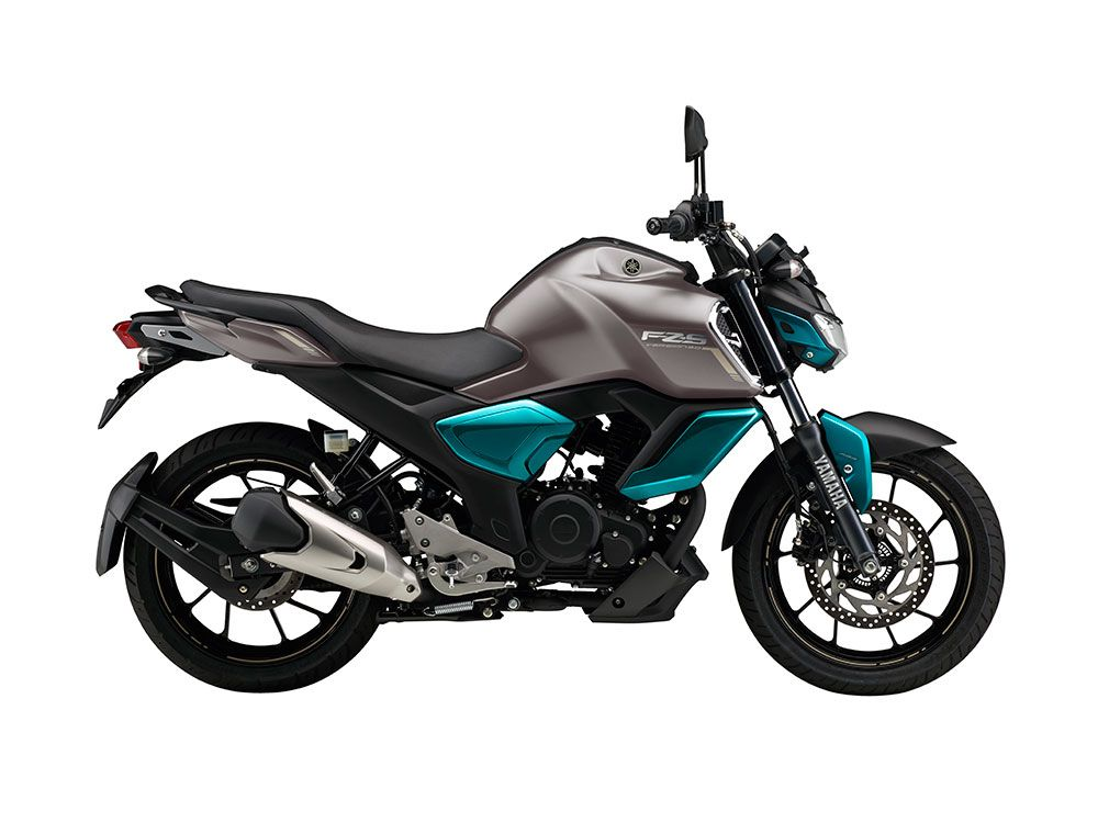 2019 Yamaha Fzs V3 0 Colors Cyan Blue Matt Blue Matt Black Fi