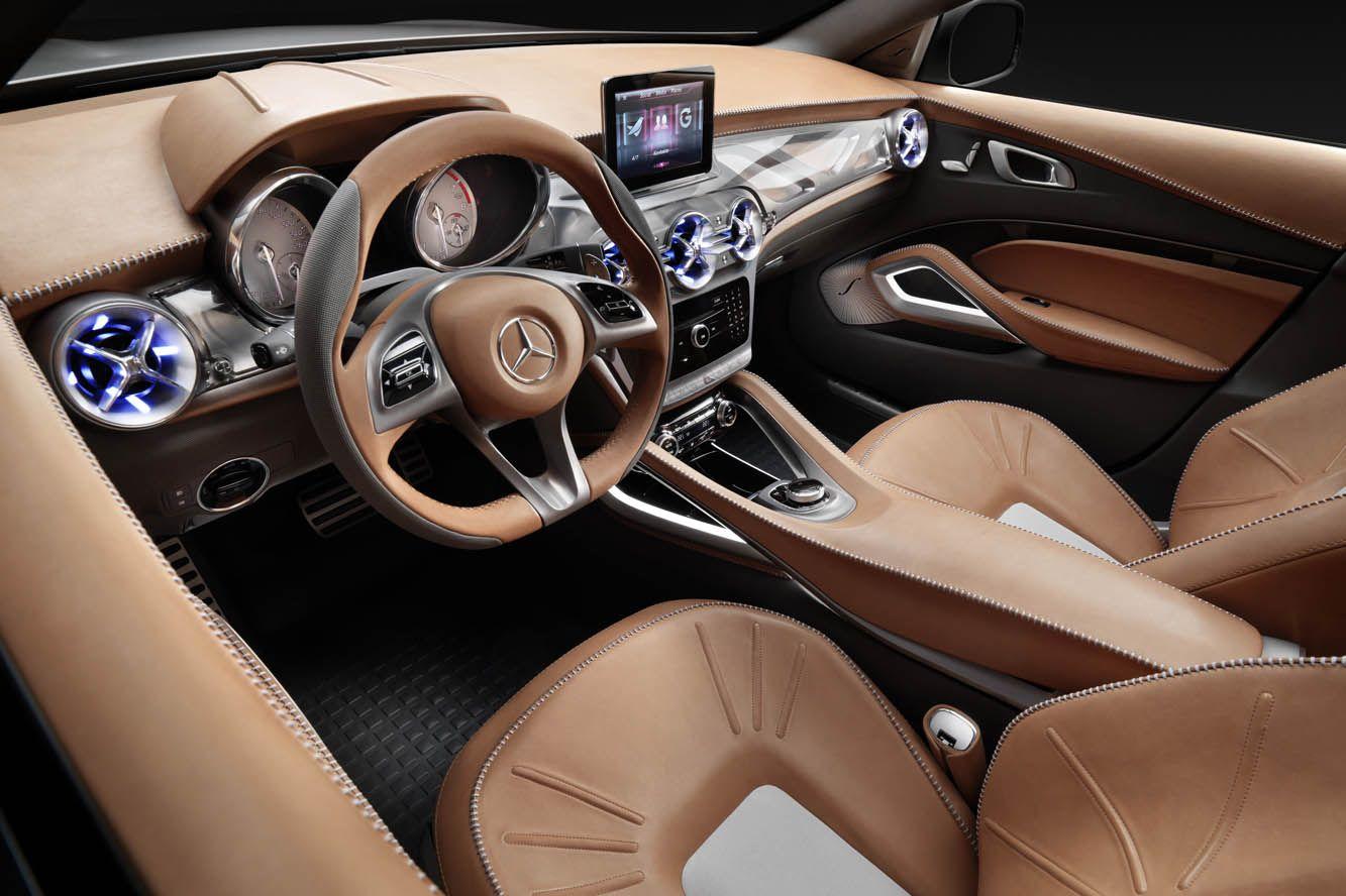 Interieur Mercedes Gla Concept Avec Images Vehicule De Luxe