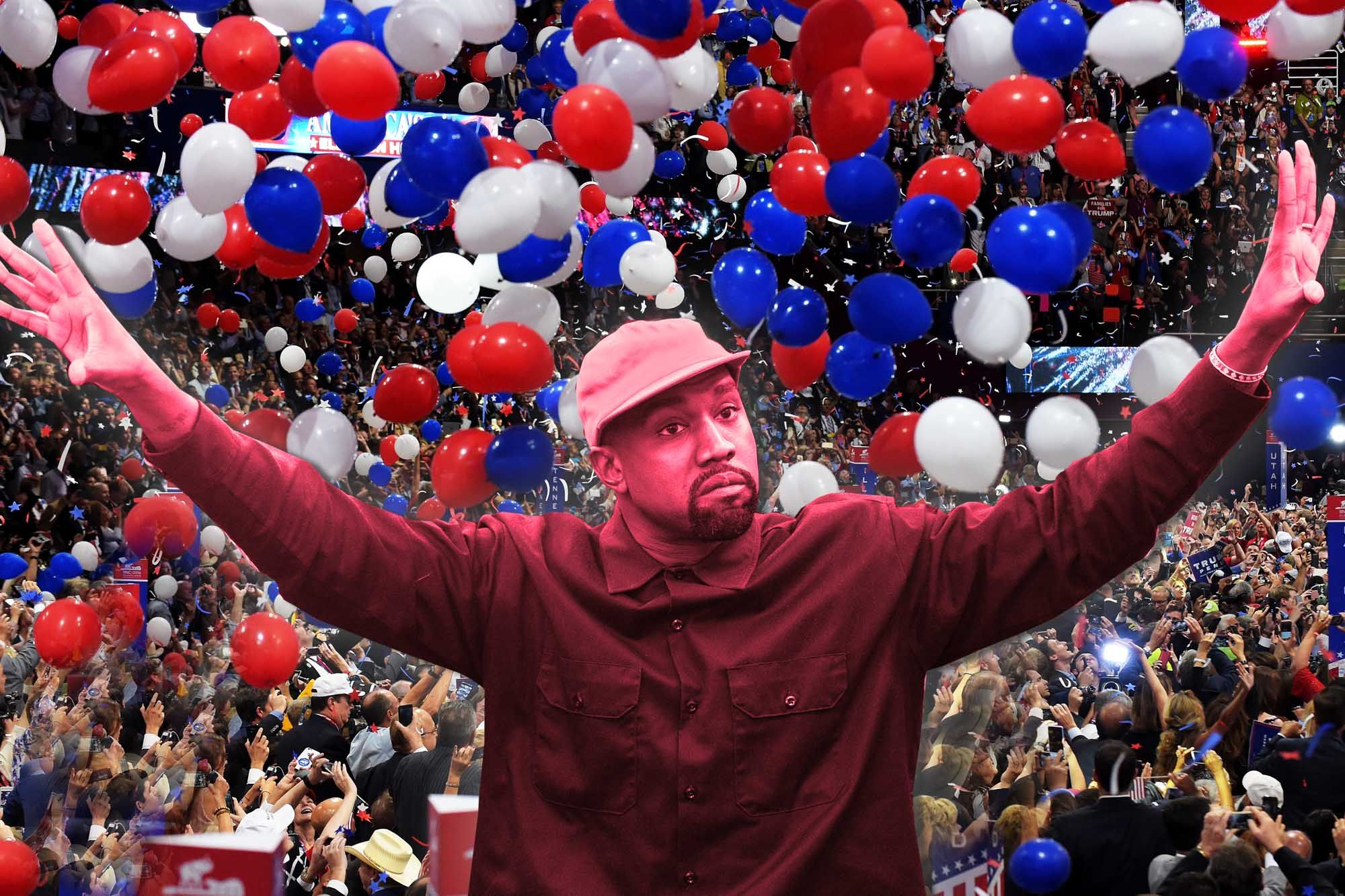 Nothing Makes More Sense In 2020 Than Kanye S Bonkers Balls Out Presidential Campaign Writes Post Columnist Mau In 2020 Presidential Campaign Presidential Kanye West
